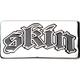 SKIN INDUSTRIES Logo Plaque Belt Buckle