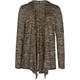 FULL TILT Essential Girls Hooded Hachi Wrap Sweater