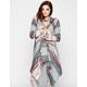 FULL TILT Stripe Womens Hooded Wrap
