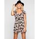 FULL TILT Floral Print Skater Dress