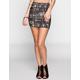 FULL TILT Tribal Print Bodycon Skirt