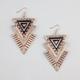 FULL TILT Triangle Earrings