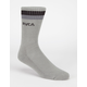 RVCA Beta Mens Crew Socks