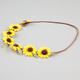 FULL TILT Sunflower Suede Headband