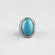 FULL TILT Oval Turquoise Ring