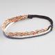 FULL TILT 3 Piece Braided Hemp Headbands