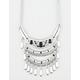 FULL TILT 3 Row Crescent Bib Necklace