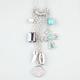 FULL TILT Stone/Fang/Cross Charm Drop Necklace