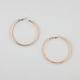 FULL TILT Chain Clutchless Hoop Earrings
