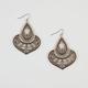 FULL TILT Jet Bead Ethnic Drop Earrings