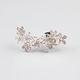 FULL TILT Floral Rhinestone Ear Cuff