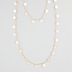 FULL TILT Diamond Dust Disc Chain Necklace