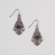 FULL TILT Filigree Rose Earrings