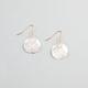 FULL TILT Diamond Dust Disc Earrings