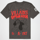 NEFF Disney Villains Pirate Network Mens T-Shirt