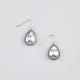 FULL TILT Rhinestone Teardrop Earrings