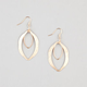 FULL TILT Diamond Dust Layered Teardrop Earrings