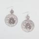 FULL TILT Turquoise Medallion Dangle Earrings