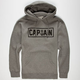 CAPTAIN FIN Naval Pin Mens Hoodie
