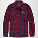 CAPTAIN FIN Fred Mens Flannel Shirt