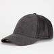 Faux Leather/Wool Womens Snapback Hat