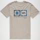 RVCA Target Boxes Mens T-Shirt