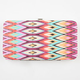Chevron Print Hinged Wallet
