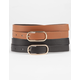 2 Piece Skinny Belts