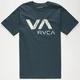 RVCA Wooden Mens T-Shirt