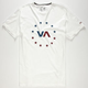 RVCA VA Sport VA Star Circle Mens T-Shirt