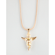 THE GOLD GODS Micro Angel Piece Necklace