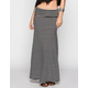 BOOM BOOM JEANS Stripe Maxi Skirt