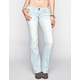 AMETHYST JEANS Destructed Womens Bootcut Jeans