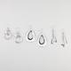 FULL TILT 3 Pairs Stick/Teardrop Earrings
