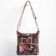 Floral/Plaid Crossbody Bag