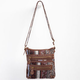 Floral Tapestry Crossbody Bag