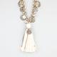 FULL TILT Coin & Tassel Necklace
