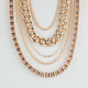 FULL TILT Layered Chain Necklace