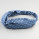 FULL TILT Daisy Dot Twist Headband