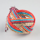 FULL TILT Seed Bead Braided Cuff Bracelet