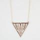 FULL TILT Triangle Necklace