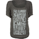 FAMOUS Stars & Straps Stacked Womens Tee