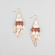 FULL TILT Chandelier Leaf Earrings