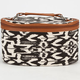 Ikat Print Cosmetic Bag