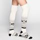 FULL TILT Ethnic Pattern Scrunch Top Womens Knee High Socks