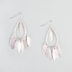FULL TILT Dangle Teardrop Earrings