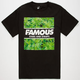 FAMOUS STARS & STRAPS Hot Box Mens T-Shirt