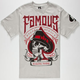 FAMOUS STARS & STRAPS Spade Tight Mens T-Shirt