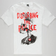 FAMOUS STARS & STRAPS Disturbing The Police Mens T-Shirt