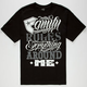 FAMOUS STARS & STRAPS Rules Everything Mens T-Shirt